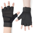 GOGO 1 Pair Tactical Half Gloves with Wrist Wrap