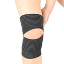GOGO Elastic Knee Brace Compression Wrap, Bandage Calf Support For Sports, 2 Pcs