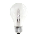 Bulbrite 53A19CL/ECO 53-Watt Dimmable Eco-Friendly Halogen A19, Medium Base, Clear, 2-Pack