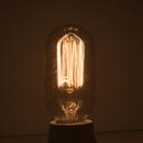 Bulbrite Incandescent T14 Medium Screw (E26) 40W Dimmable Nostalgic Light Bulb 2200K/Amber 4Pk (134015)
