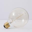 Bulbrite NOS40G30 40-Watt Nostalgic Incandescent Edison G30 Globe, Thread Filament, Medium Base, Antique