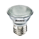 Bulbrite BAB/E26 20-Watt Dimmable Halogen MR16 Lensed, Medium Base, Clear
