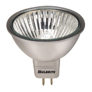 Bulbrite EXN/SLV 50-Watt Dimmable Halogen MR16, GU5.3 Base, Silver