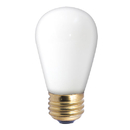Bulbrite Incandescent S14 Medium Screw (E26) 11W Dimmable Light Bulb 2700K/Warm White 25Pk (701011)