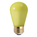 Bulbrite Incandescent S14 Medium Screw (E26) 11W Dimmable Light Bulb Ceramic Yellow 25Pk (701801)