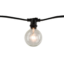 Bulbrite STRING10/E12/BLACK-G16KT 14' String Light Kit With (10Pcs) LED G16 Candelabra Screw (E12) 4W Dimmable (861448)