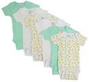 Bambini Boys' Printed Short Sleeve 6 Pack