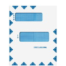Super Forms 80015PS Offset Window First Class Mail Envelope - Peel & Close