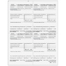 Super Forms 80026 - Form W-2 - Employer State/Local/File Copies 1/D - 4up Quadrants