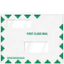 Super Forms 80344 Folders & Envelopes Software Compatible Envelopes Double Window First Class Important Info Mailing Envelope (80344)