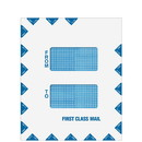 Super Forms 80730 Double Window First Class Mail Envelope