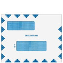 Super Forms 80783PS Double Window First Class Mail Envelope - Peel & Close