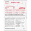 Super Forms B109605 - Form 1096 Transmittal Summary