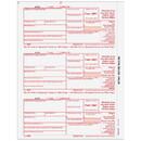 Super Forms B3921FED05 3921 3up Federal Copy A