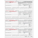 Super Forms BW24DWN05 W-2 - Employee Copies - B/C/2/2 4up Horizontal