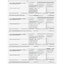 Super Forms BW24DWNA W-2 - Employee Copies B/C/2/2 - 4up Horizontal
