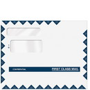 Super Forms C80596 Double Window Envelope - Confidential First Class - 9 1/2