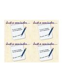 Super Forms CARD04B14 Laser Postcard Reminder Blank