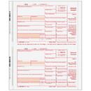 Super Forms CINT054 2up 1099-INT Interest Income 5-part - Carbonless