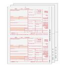 Super Forms INTSET405 1099-INT 2up Blank 4-Part Set