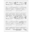 Super Forms 1099-R Distributions From Pensions, etc. - Recipient Copy 4up Quadrant
