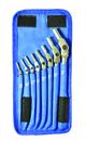 Bondhus Set 8 Chrome HEX-PRO Wrench 1/8-3/8