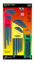 Bondhus Triple Pack - Ball L-wr Sets 10937 (.050-3/8), 10999 (1.5-10mm) & GorillaGrip Fold-Up Set 12632 (T6-T25)