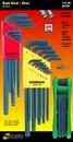 Bondhus Triple Pack - Ball L-wr Sets 10937 (.050-3/8), 10999 (1.5-10mm) & GorillaGrip Fold-Up Set 12634 (T9-T40)