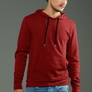 MOCO 3MC3F766 eco-HYBRID 3-End French Terry Pullover Hoody