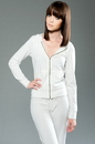 MOCO 3MCSF577 eco-HYBRID Spandex French Terry Long Sleeve Fitted Zip Hoody