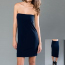 MOCO 4MCSJ305 eco-HYBRID Spandex Jersey Banded Tube Dress /Skirt