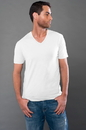 MOCO 4SMMJ288 eco-HYBRID Lightweight Champion V-Neck Tee