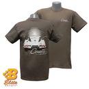 Belite Designs Belite Designs C2 1963 Corvette Sting Ray Tee Shirt CHARCOAL- XXX LARGE -BDC2ST848