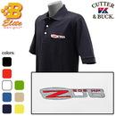 Belite Designs Belite Designs Z06 Corvette Embroidered Men's Cutter & Buck Ace Polo Navy- Small -BDCZEP8021