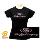 Belite Designs Belite Designs Ladies Ford Motor Company Shirt BLACK- XX LARGE -BDFMSTL115