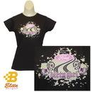 Belite Designs Belite Designs Ladies Ford Dirty Girl Shirt DARK CHOCOLATE- X LARGE -BDFMSTL123