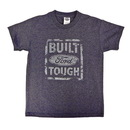 Belite Designs Belite Designs Built Ford Tough Distressed Look Youth Tee DENIM HEATHER- SMALL (6-8) -
