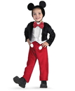 Disguise 100172 Disney Mickey Mouse Deluxe Toddler / Child Costume - 3T-4T