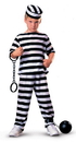 Rubies Costumes 881917L Jailbird Child Costume