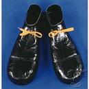 Rubies 105400 Clown Shoes - Black Plastic 16