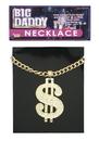 Forum Novelties 108319 Necklace Dollar Sign Jumbo