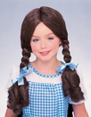 Rubies Costumes 108672 The Wizard of Oz Dorothy Wig