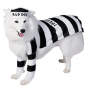 Rubies Costumes 50431-S Prisoner Dog Pet Costume, Small