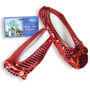 Rubies 109342 Ruby Slippers, Adult Shoe Covers