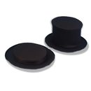Forum Novelties 125253 Collapsible Top Hat Black Adult