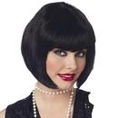 California Costumes 125588 Flapper Wig (Black)