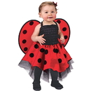 Fun World 126124 Lady Bug Infant Costume - Infant (Up to 24 Months)