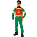 Rubies Costumes 126834 Teen Titans DC Comics Robin Child Costume, Largw