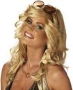California Costumes 133014 Discorama Mama Blonde Wig Adult