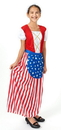 Forum Novelties 58270S Betsy Ross Heroes In History Child Costume, Small